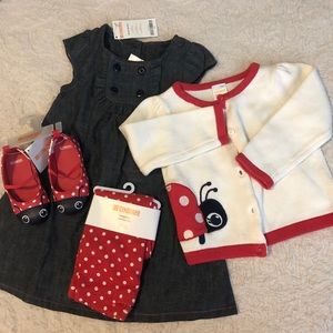 Toddler Ladybug Outfit 🐞
